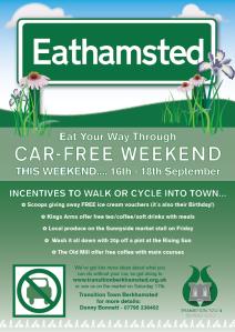 Car Free Weekend - Poster 3