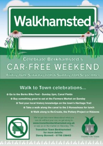 Car Free Weekend - Poster 1