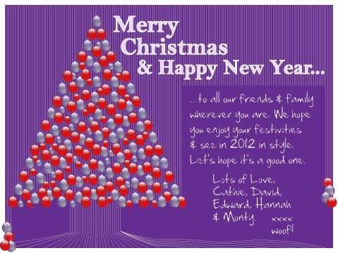 Merry Christmas 2011 & Happy New Year 2012