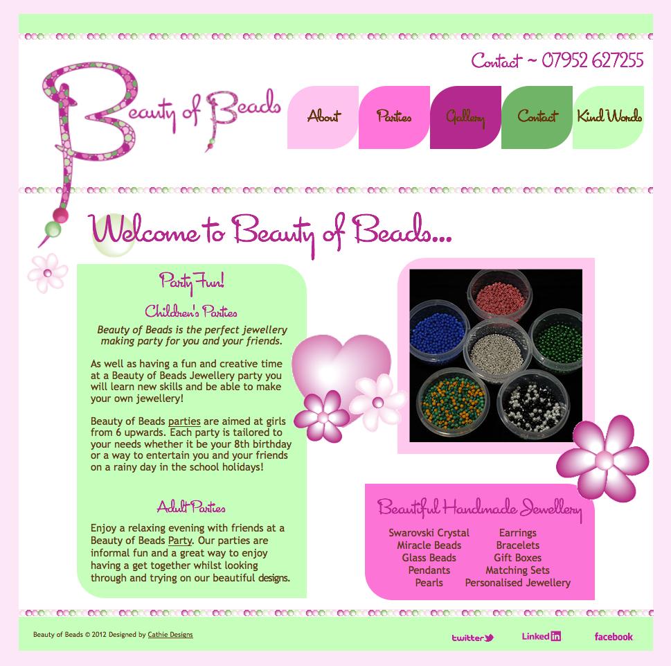 Beauty of Beads Website